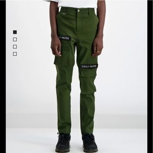 Daily Paper highrise cotton pant XS
